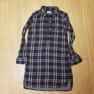 Big Girls Plaid Dress